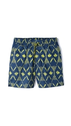 Marc By Marc Jacobs Playa Print Swim Trunks Green Oasis Multi
