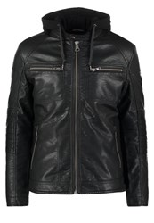 S.Oliver Faux Leather Jacket Black