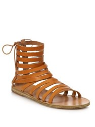 Ancient Greek Sandals Galatia Leather Gladiator Sandals Natural