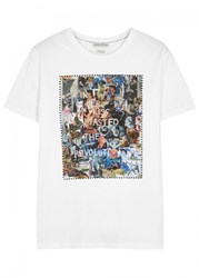Each X Other White Printed Cotton T Shirt