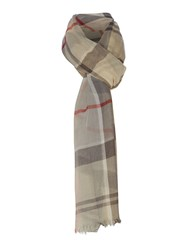 Barbour Summer Dress Tartan Wrap Grey