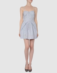 0051 Insight Short Dresses Light Grey