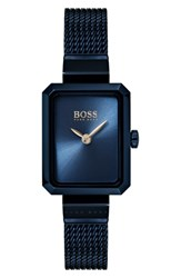 Boss Whisper Strap Watch 20Mm X 26Mm Blue