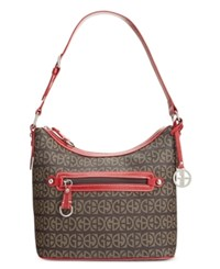 Giani Bernini Block Signature Hobo Only At Macy's Red