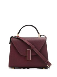 Valextra Iside Tote Red
