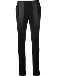 Paco Rabanne Contrast Detailing Trousers Black