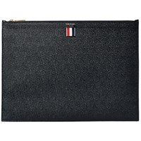 Thom Browne Large Zip Laptop Holder Black