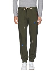 The Editor Casual Pants Military Green