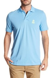 Psycho Bunny Pima Cotton Polo Blue