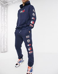 Tommy Jeans Sport Tech Joggers In Navy