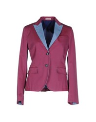 Manuel Ritz Suits And Jackets Blazers Women Garnet