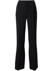 Marco De Vincenzo Tailored Flared Trousers Black