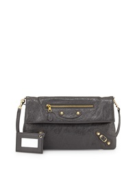 Balenciaga Giant 12 Envelope Clutch Bag With Strap