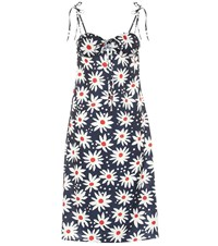 Solid And Striped Exclusive To Mytheresa Lolita Floral Dress Blue