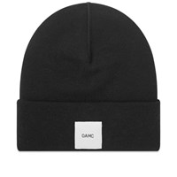 Oamc Logo Watch Beanie Black