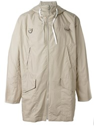 Kenzo Pull Raincoat Nude And Neutrals