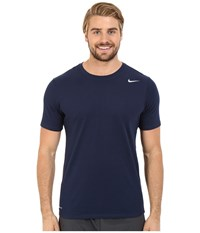 Nike Dri Fit Version 2.0 T Shirt Obsidian Obsidian Matte Silver Men's T Shirt Black