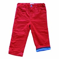 Toby Tiger Red Cord Trousers