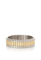 Forever 21 Two Tone Stretch Bracelet Gold Silver