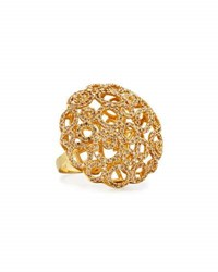Roberto Coin Mauresque 18K Open Circle Diamond Cocktail Ring