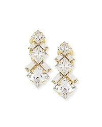 Auden Ryder Crystal Clip On Earrings Gold