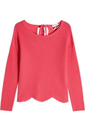 81 Hours Cashmere Pullover With Scalloped Hem