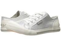 Rocket Dog Jazzin Silver Space Travel Women's Lace Up Casual Shoes
