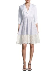 French Connection Oni Lace Dress Summer White