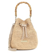 Heidi Klein Savannah Bay Super Mini Bucket Bag Beige