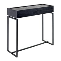 Serax Marble Console Drawers Black