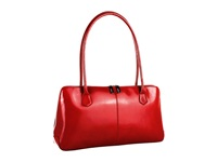 Hobo Paulina Red Venice Leather Shoulder Handbags