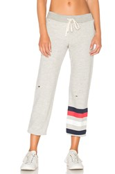 Sundry Stripes Sweatpant Light Gray