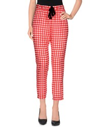 Vicolo Trousers Casual Trousers Women Red