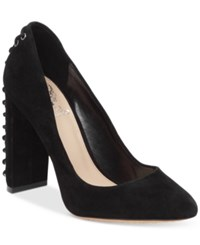 Vince Camuto Dallan Lace Up Heel Pumps Women's Shoes Black