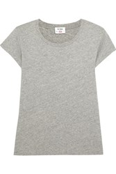 Re Done Hanes 1960S Cotton Jersey T Shirt Gray