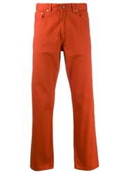 Levi's Vintage Clothing Straight Fit Trousers Red
