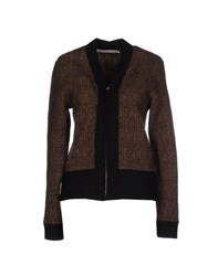 Haver Sack Knitwear Cardigans Women Dark Brown