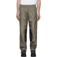 All In Brown And Black Xp Track Pants