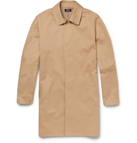 A.P.C. Cotton Gabardine Raincoat Neutrals