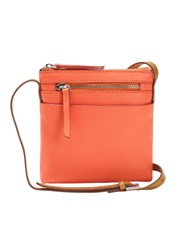 White Stuff Mini Leila Crossbody Bag Coral