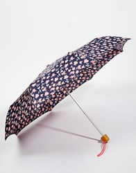 Fulton Superslim 2 Blurred Floral Pink Umbrella Pink