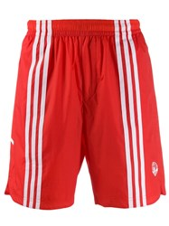 Adidas Oyster Holdings Shorts Red