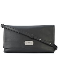 Shinola Accordion Cross Body Bag Black
