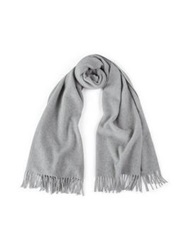Day Birger Et Mikkelsen Tender Wool Fringed Scarf Grey