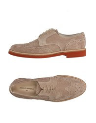 Angelo Nardelli Lace Up Shoes Dove Grey