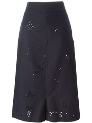 Stella Mccartney 'Kyle' Culottes Blue