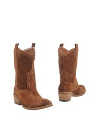Jfk Ankle Boots Brown