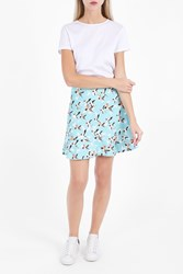Paul Joe Sister Women S Tourterelle Bird Print Skirt Boutique1 Multi