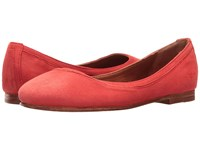 Frye Carson Ballet Coral Suede Women's Flat Shoes Pink