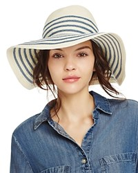 Yestadt Millinery Breton Floppy Sun Hat Blue
